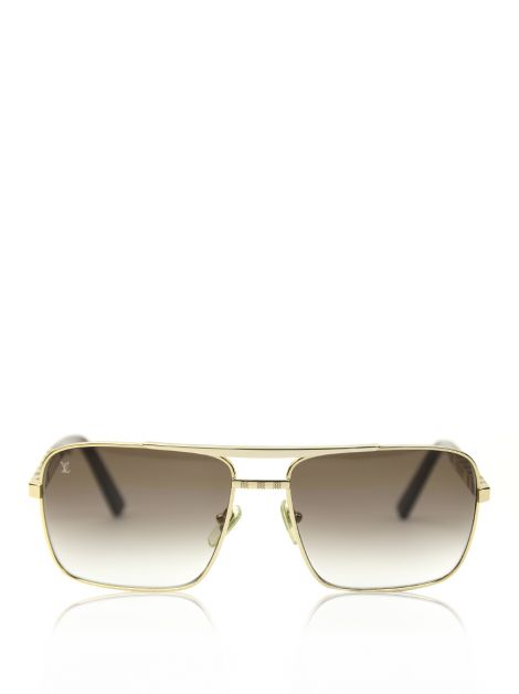 Óculos Louis Vuitton Attitude Sunglasses Gold Z0259U