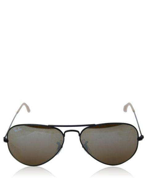 Óculos Ray Ban Aviador Large Metal Preto