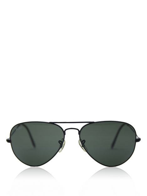 Óculos Ray-Ban Aviador Metal Preto RB3025