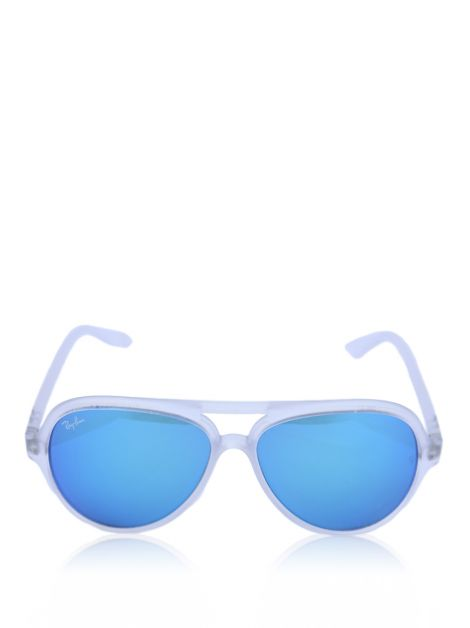 Óculos Ray Ban Cats 5000 Blue Flash 646/17