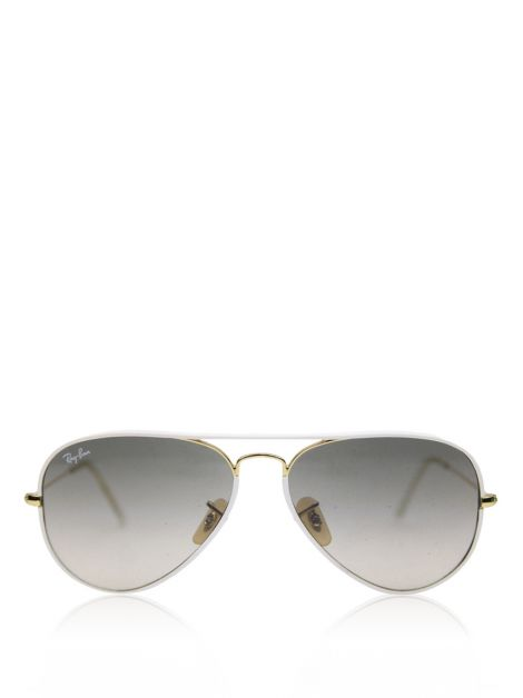 Óculos Ray-Ban RB 3025 Aviator Full Color Branco
