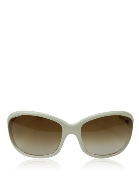 Óculos Tom Ford Acetato Off-White Jennifer