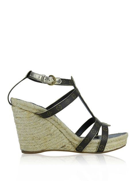 Espadrille Louis Vuitton Open-Toe Wedge
