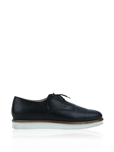 Oxford Tod's Derby Preto