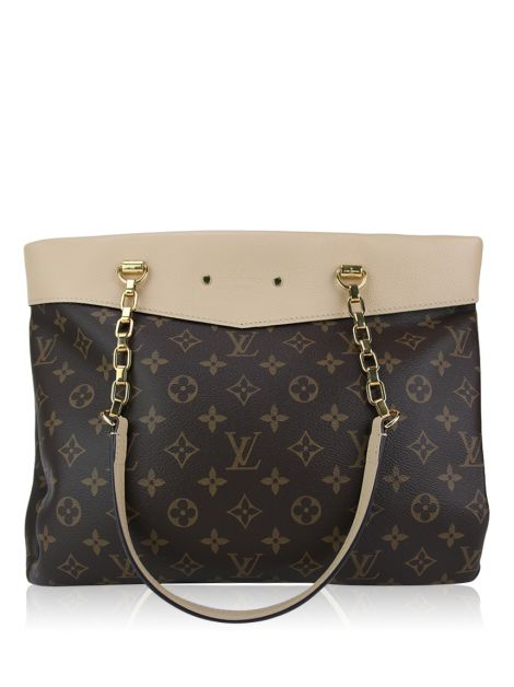 Bolsa Louis Vuitton Pallas Shopper Monograma