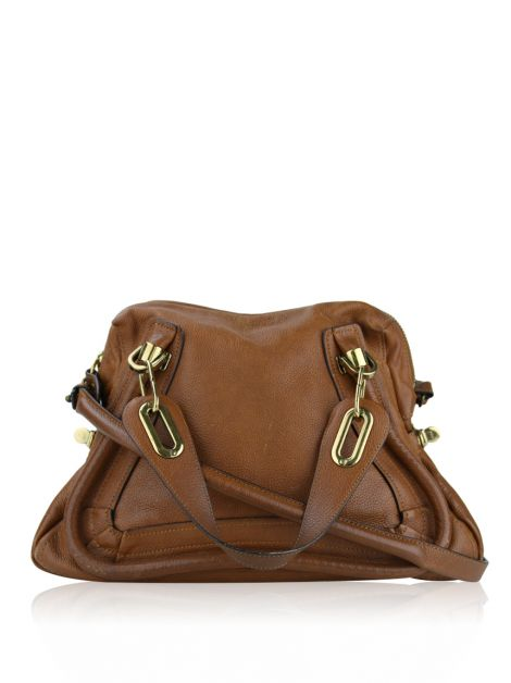Bolsa Chloé Paraty Top Handle Caramelo