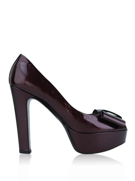 Peep Toe Louis Vuitton True Rouge Fauviste