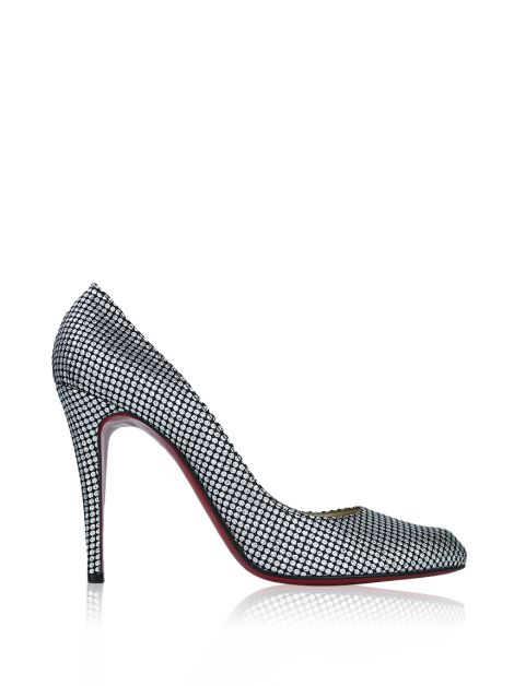 Sapato Christian Louboutin Pigalle 100 Omicron Fabric