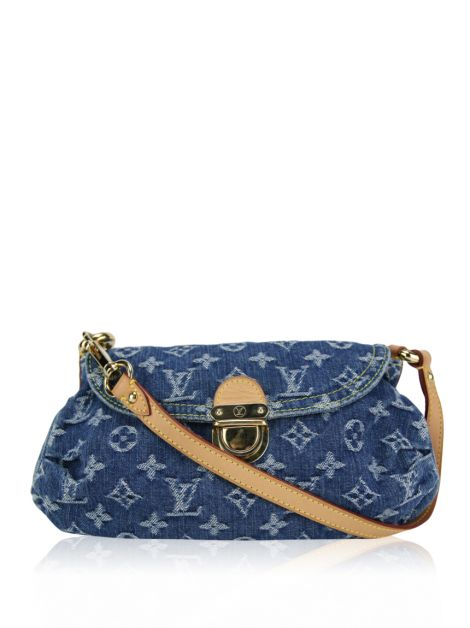 Bolsa Louis Vuitton Pleaty Mini Denim