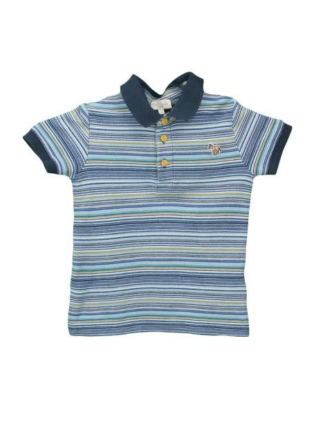 Camiseta Paul Smith Junior Listrada Infantil