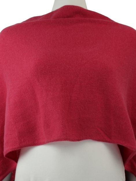 Poncho In Cashmere Rosa