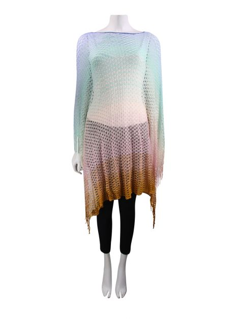 Poncho Missoni Degradê