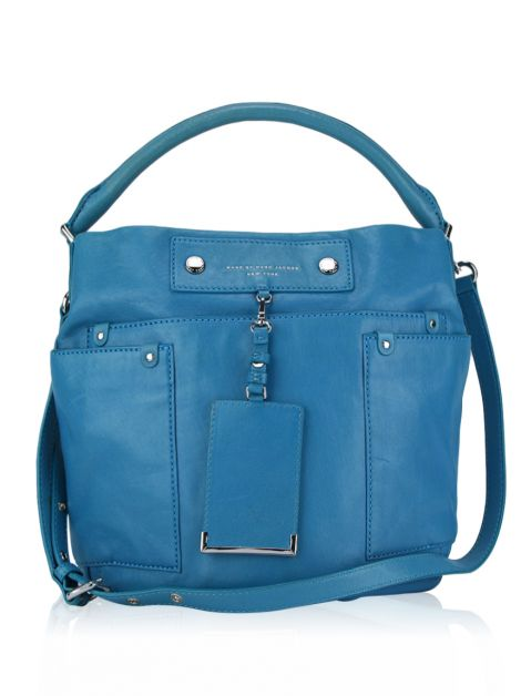 Bolsa Marc by Marc Jacobs Preppy Hillier Hobo Electric Blue