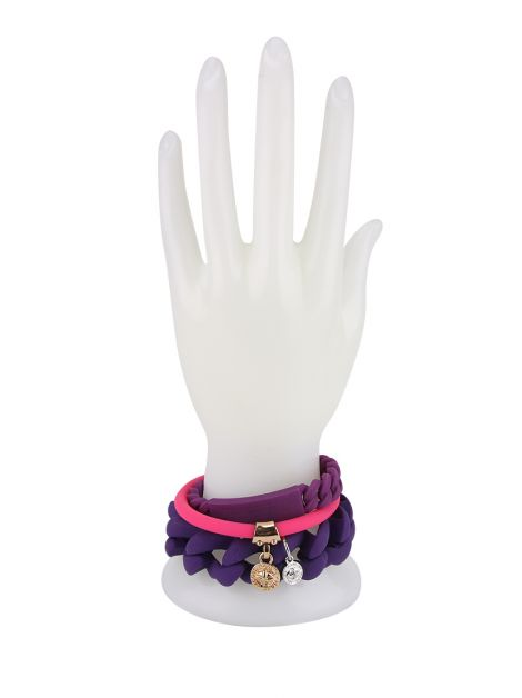 Pulseira Marc By Marc Jacobs Silicone Multicolor