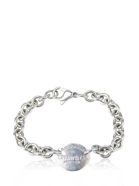 Pulseira Tiffany & Co Corrente Prata 925