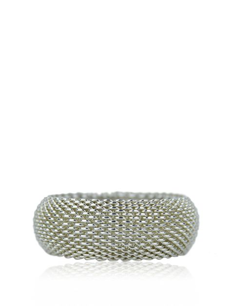 Pulseira Tiffany & Co Somerset Mesh Prata