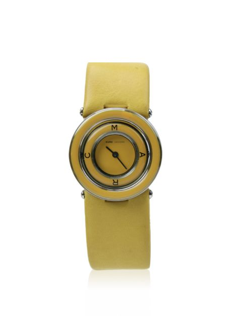 Relógio Marc by Marc Jacobs Couro Amarelo