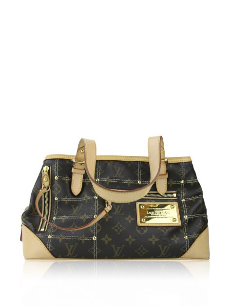 Bolsa Louis Vuitton Sac Riveting Canvas
