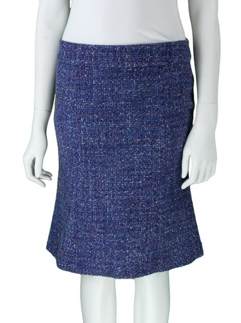Saia Marc Jacobs Tweed Azul