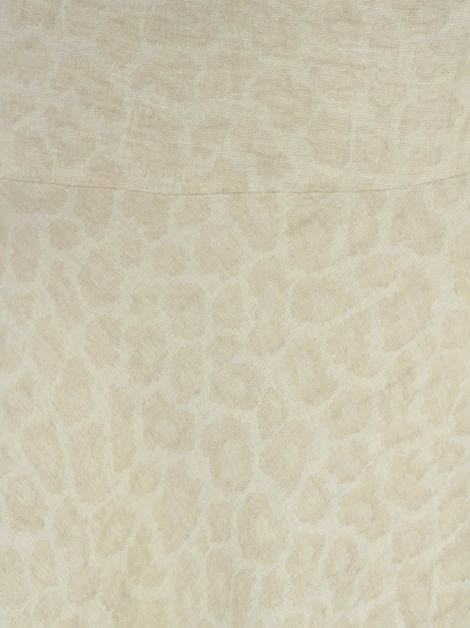 Saia Mixed Animal Print Creme