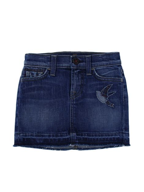 Saia Seven For All Mankind Jeans Azul Infantil