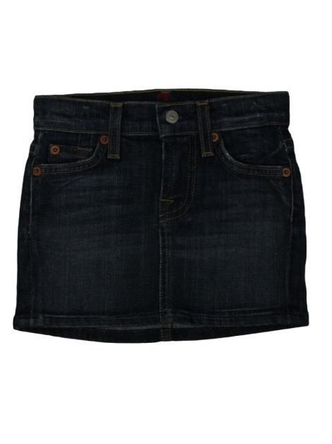 Saia Seven For All Mankind Jeans Infantil