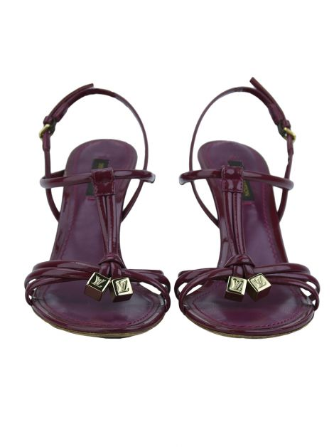 Sandalia Louis Vuitton Leather Strappy Fucsia