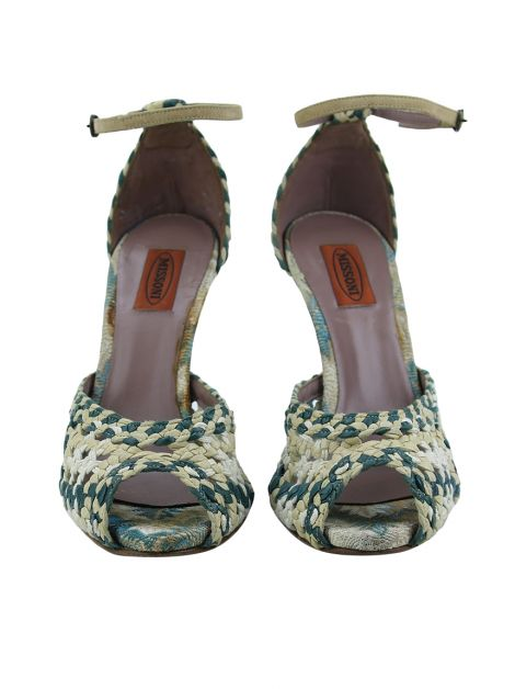 Sandália Missoni Braided Bicolor