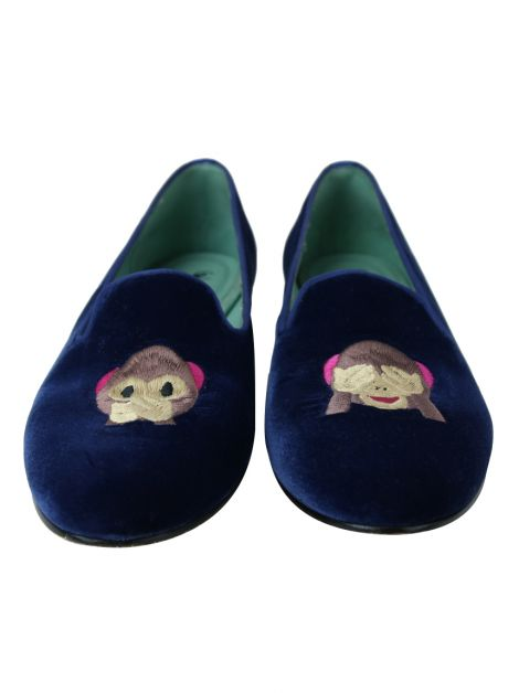 Sapatilha Blue Bird Loafer Monkey Azul