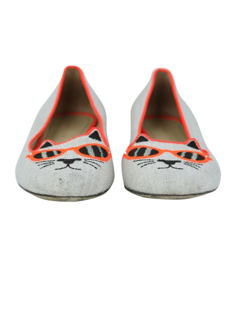 Sapatilha Charlotte Olympia Sunkissed Kitty