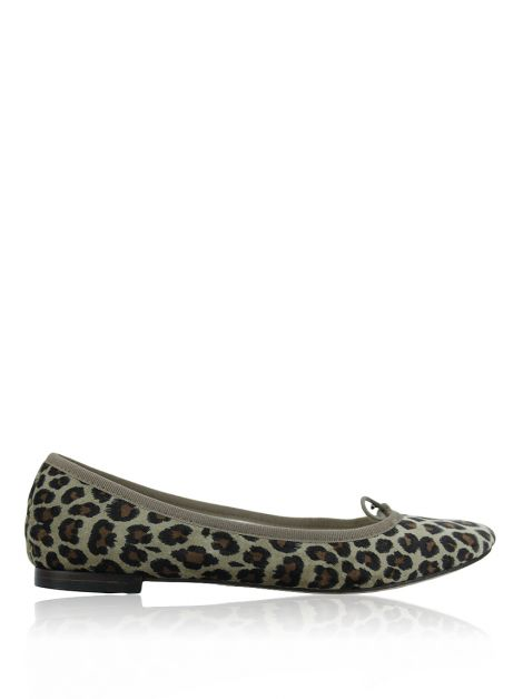 Sapatilha Repetto Cendrillon Leopardo