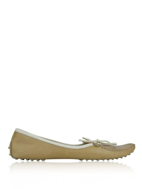 Sapatilha Tod's Couro Bege