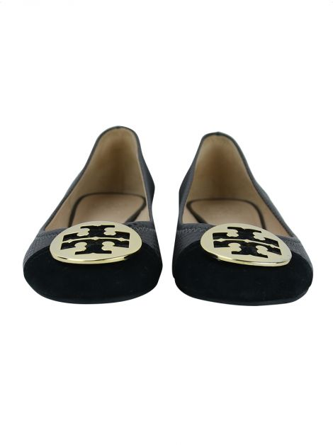 Sapatilha Tory Burch Couro Bicolor