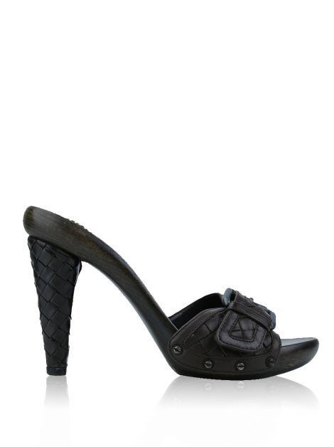 Sapato Bottega Veneta Leather Clog