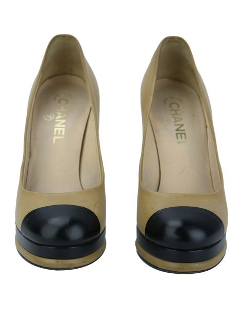 Sapato Chanel Pump Bicolor