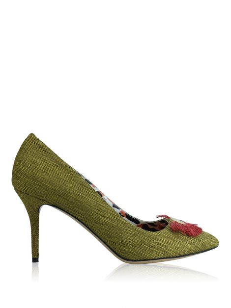 Sapato Charlotte Olympia Desirée Gone Wild Verde