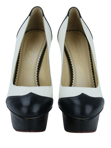 Sapato Charlotte Olympia Dolly Bicolor