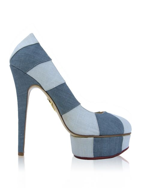 Sapato Charlotte Olympia Polly Jeans