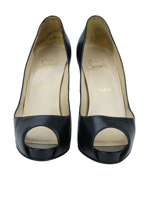 Peep Toe Chrisitan Louboutin Very Prive Preto