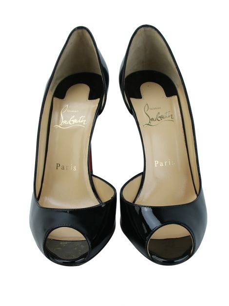 Sapato Christian Louboutin Demi You 1000 Preto