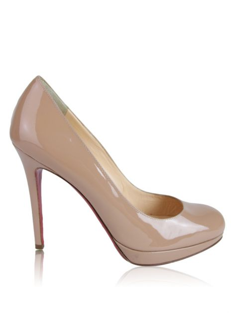 Sapato Christian Louboutin New Simple Pump Bege