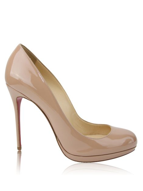Sapato Christian Louboutin New Simple Pump Nude