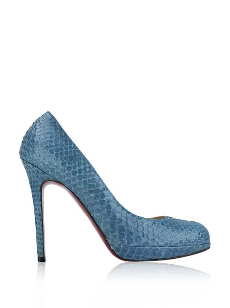 Sapato Christian Louboutin New Simple Pump Python