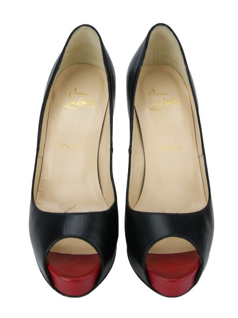 Sapato Christian Louboutin New Very Prive Preto