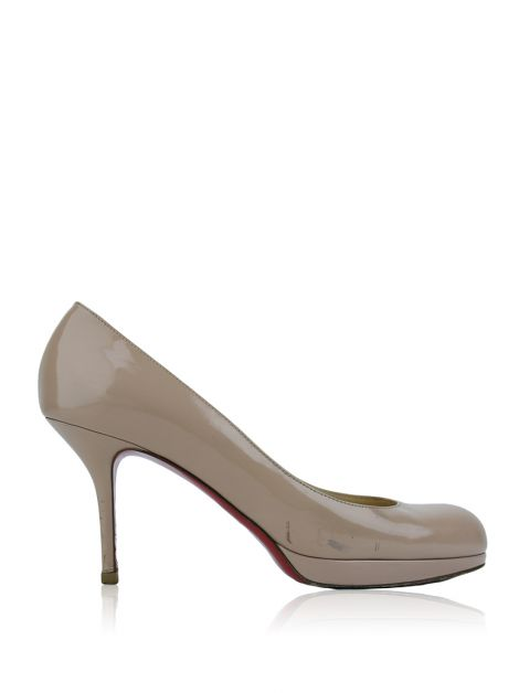 Sapato Christian Louboutin Simple Pumps Nude