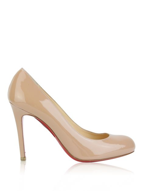 Sapato Christian Louboutin Simple Pump 10 MM Nude