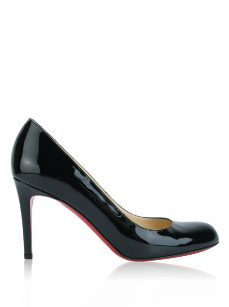Sapato Christian Louboutin Simple Pump 85 MM Preto