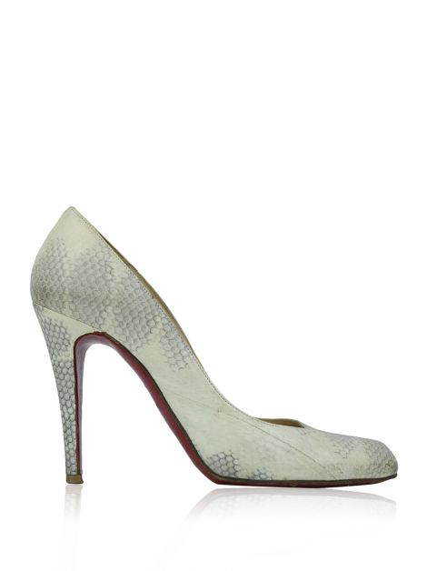 Sapato Christian Louboutin Simple Pump Bicolor
