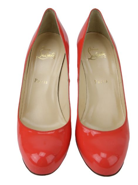 Sapato Christian Louboutin Simple Pump Coral