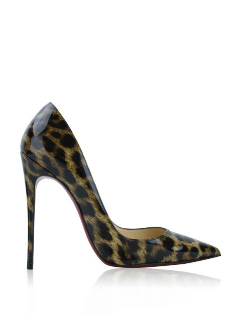 Sapato Christian Louboutin So Kate Leopardo